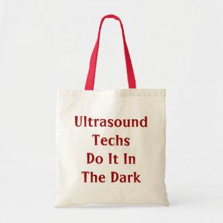 Las tecnologías del ultrasonido lo hacen en el bol bolsa tela barata