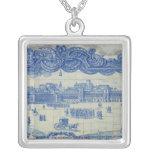 Las tejas de Azulejos que representan el Praca hac Colgantes