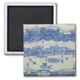 Las tejas de Azulejos que representan el Praca hac Imanes Para Frigoríficos