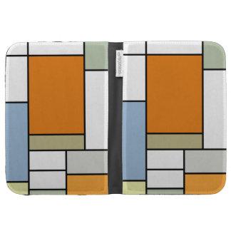 Las tejas modernas de Mondrian encienden la caja