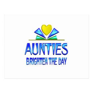 Las tías aclaran el día tarjeta postal