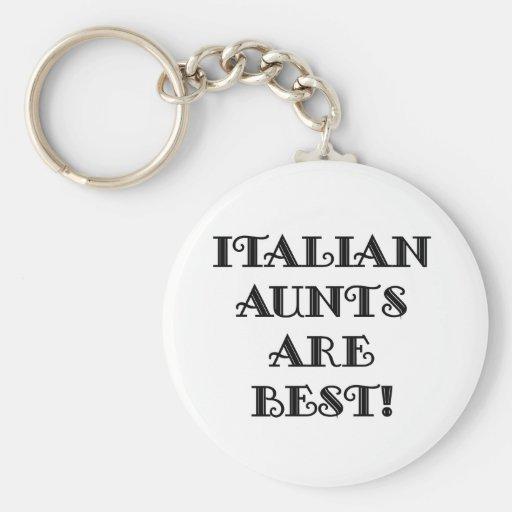 Las tías italianas son las mejores llavero redondo tipo pin