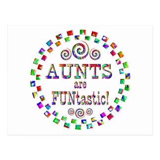 Las tías son Funtastic Tarjeta Postal