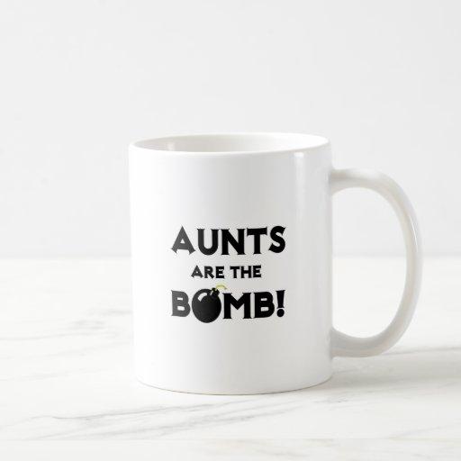 ¡Las tías son la bomba! Tazas