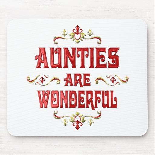 Las tías son maravillosas alfombrillas de ratón