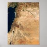 Las tierras de Israel a lo largo de la orilla del  Posters