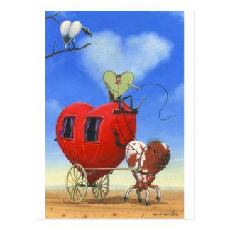 Las tierras del corazón postales