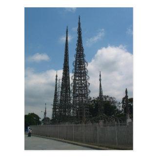 Las torres de los vatios postal