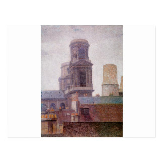 Las torres, Santo-Sulpice de Albert Dubois-Pillet Postales