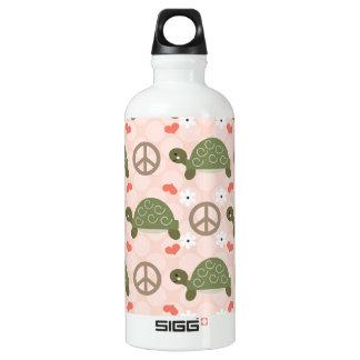 Las tortugas BPA del amor de la paz liberan