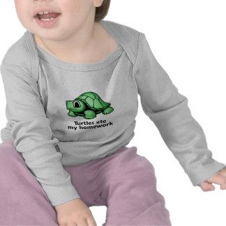 Las tortugas comieron mi preparación camiseta