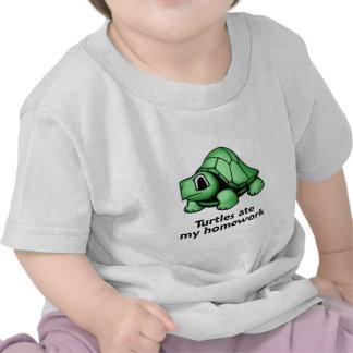 Las tortugas comieron mi preparación camisetas