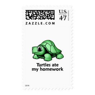 Las tortugas comieron mi preparación sello