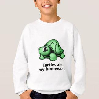 Las tortugas comieron mi preparación sudadera