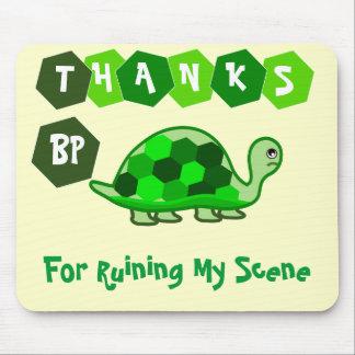 Las tortugas dicen las gracias BP Alfombrilla De Raton
