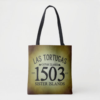 Las Tortugas EST. 1503 Rustic Tote Bag