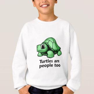 Las tortugas son gente también sudadera