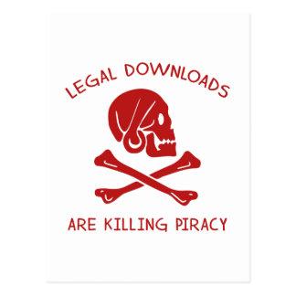Las transferencias directas legales están matando postal