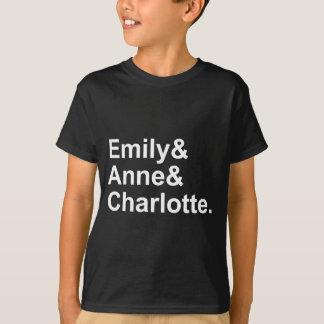Las tres hermanas de Bronte el | Emily Charlotte Playera