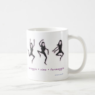 Las tres musas taza de café