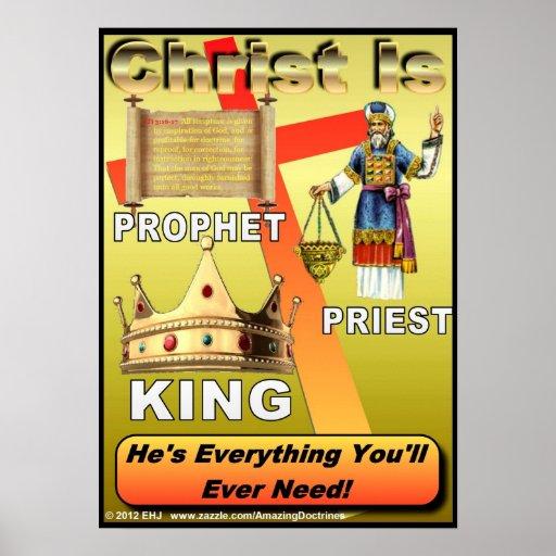 Las tres oficinas del poster/de la impresión de Cr Póster