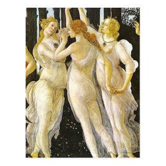 Las tres tolerancias de Sandro Botticelli Tarjetas Postales