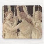 Las tres tolerancias Mousepad de Botticelli
