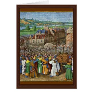 Las trompetas de Jericó de Fouquet Jean (el mejor  Tarjeta