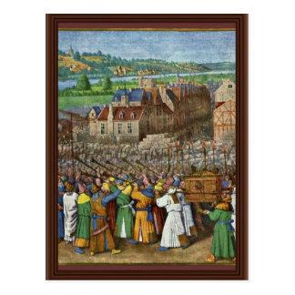 Las trompetas de Jericó de Fouquet Jean (el mejor  Tarjeta Postal