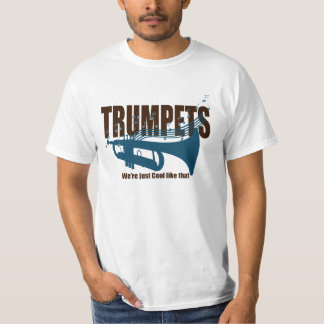 Las trompetas somos apenas frescos como ése playera