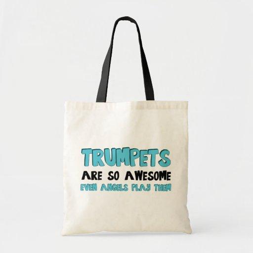 Las trompetas son impresionantes bolsa de mano
