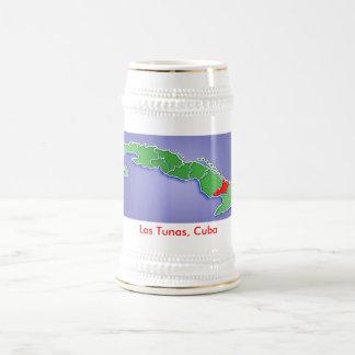 Las Tunas, Cuba Beer Stein