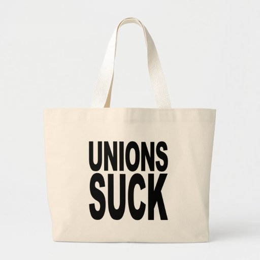 Las uniones chupan bolsas