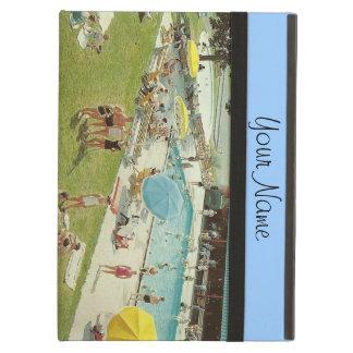 Las vacaciones de verano retras de la piscina añad