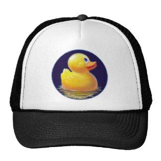 Las vacaciones del pato de goma gorras