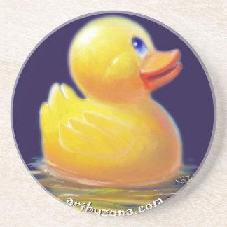 Las vacaciones del pato de goma posavasos manualidades