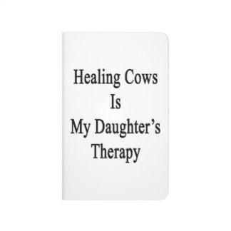 Las vacas curativas son la terapia de mi hija cuaderno