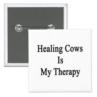 Las vacas curativas son mi terapia