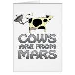 las vacas de estropean tarjetas
