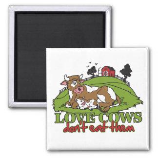 Las vacas del amor, no los comen imanes para frigoríficos