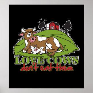 Las vacas del amor, no los comen poster