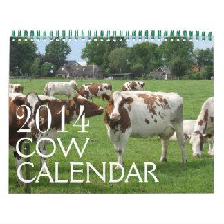 Las vacas hacen calendarios 2014