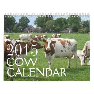 Las vacas hacen calendarios 2015
