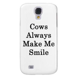 Las vacas hacen siempre que sonríe