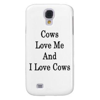 Las vacas me aman y amo vacas