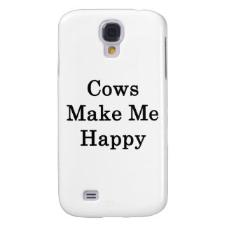 Las vacas me hacen feliz
