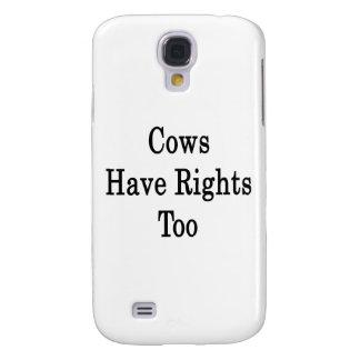 Las vacas tienen derechas también