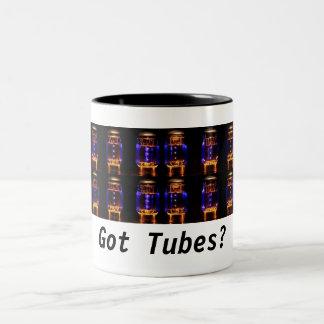 ¿Las válvulas/los tubos de vacío asaltan - los Taza De Dos Tonos