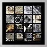 Las variaciones de Sierpinski Poster