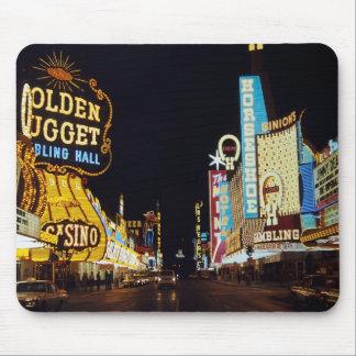 Las Vegas 1960 Mouse Pads